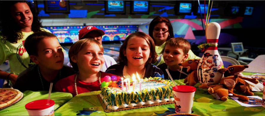 kids bowling birthday party